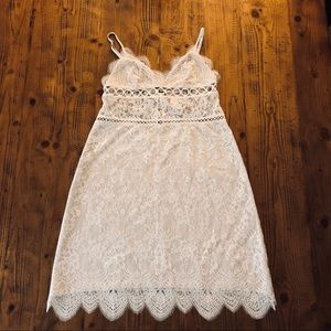 Victorias Secret Lace Slip Dress